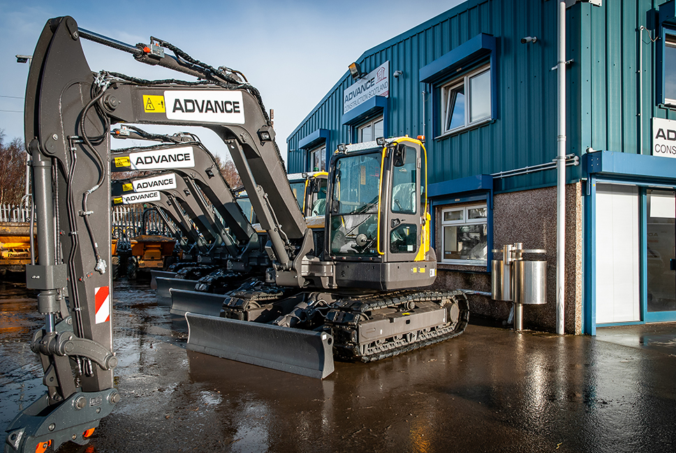 ANOTHER PURCHASE OF VOLVO EXCAVATORS - Advance Construction